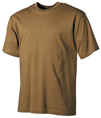 US RAID Shirt halbarm short Sleeve Army tshirt Hemd Coyote tan M / Medium