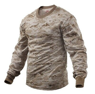 US DESERT DIGITAL Army USMC LONG SLEEVE Langarm SHIRT Hemd L / Large