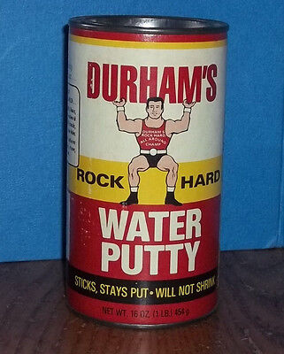 VTG DURHAM'S ROCK HARD WATER PUTTY CrossFit Plastic Repair WEIGHT LIFTING Strong