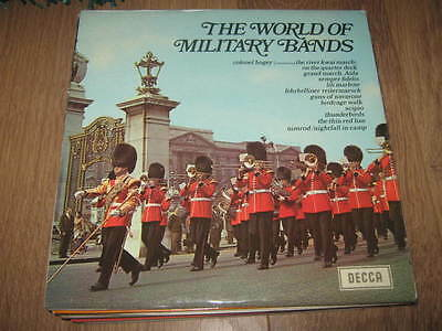 The World Of Military Bands ~ Decca Vinyl Lp Ex/ex 1969 Spa. 18