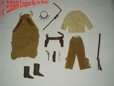 BIG JIM - Karl May Outfit : Bloody Fox - Bisonte Nero  ! Mattel - Western !