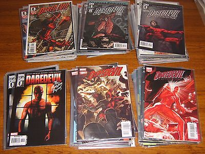 Daredevil #1-119 + #500-512  Set (2Nd Series-1998) (Marvel Knights) 132 Issues