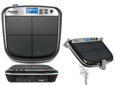 ALESIS SamplePad SUPERFICIE 4 PAD CON LETTORE SD CARD