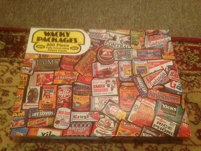 Jaymar Wacky Packages Puzzle