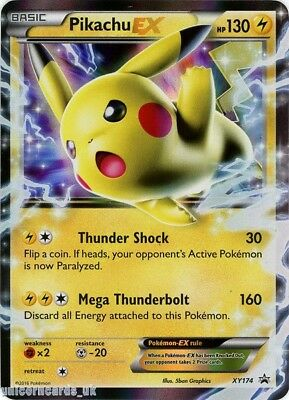Pikachu EX XY174 Mint Holo Pokemon Card