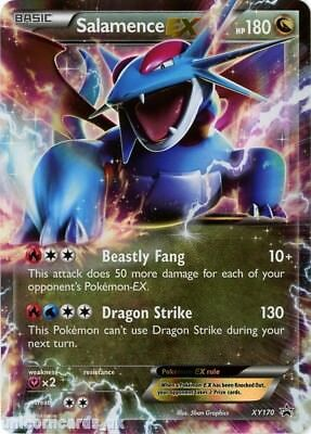 Salamence EX XY170 Mint Holo Pokemon Card