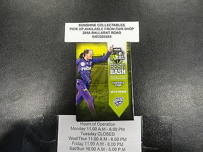 2016/17 Cricket Tap N Play  Best Of Big Bash Card Aw-17 Veronica Pyke