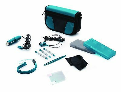 Aqua Blue Starter Kit For 3DS/Dsi - Nintendo DS Standard Edition
