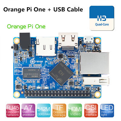 Orange Pi One Single Board Computer H3 Quad Core DDR3 512MB Development Board