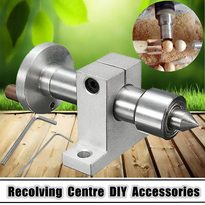 Adjustable Double Bearing Live Centre Revolving w/ Wrench For Mini Lathe Machine