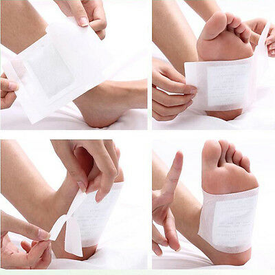 Detox Foot Patches with Adhesive Foot care Bamboo Pads Stickers Improve Health