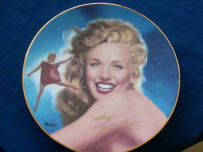 "Hamilton Remembering Norma Jean ""A Star Is Born"" Marilyn Monroe plate"