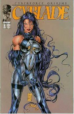 Cyberforce Origins: Cyblade # 1 (Joe Benitez, one-shot) (USA, 1995)