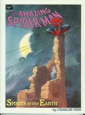 Spider-Man: Spirits of the Earth (Charles Vess) (HC, USA, 1990)