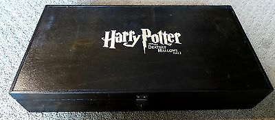 Harry Potter And The Deathly Hallows Wood Box Promotional Only Press Kit
