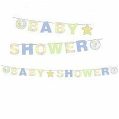 PRECIOUS MOMENTS Baby Shower BANNER ~ Party Supplies Decorations Neutral Unisex