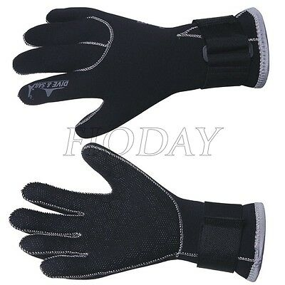 3mm Neoprene Wetsuit Gloves Kayak Diving Swimming Surfing Gloves S M L Size Hot