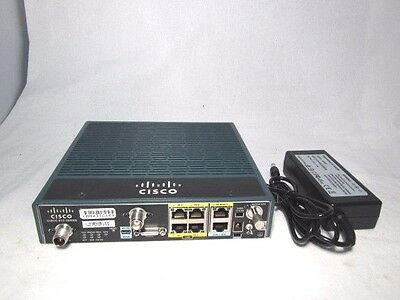 Cisco C819G-4G-V-K9 819 4G LTE M2M Gateway Integrated Service Router with PA