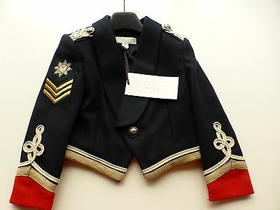 NEW AUTHENTIC Stella McCartney Kids Lee Cropped Military Jacket. 1/ 2 Years.GIFT
