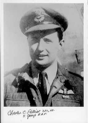 SPBB38 RAF Battle of Britain photo signed  WWII WW2 ace PALLISER DFC