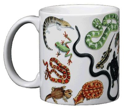 Herp Wrap 11 OZ. Ceramic Coffee Mug or Tea Cup