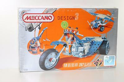 Meccano French 287 piece mostly steel set + 10 Model instructions 6700 FNQHobbys