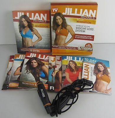 Jillian Michaels Body Revolution Extreme 90-Day Weight Loss System