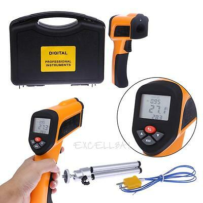 HT-6897 Non-Contact High Temperature -50~1650℃ Infrared Thermometer Type K Probe