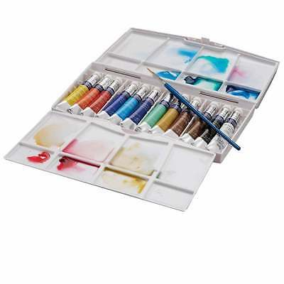 Winsor and Newton Cotman Watercolours Painting Plus Tube Set - 12 x 8ml Tubes
