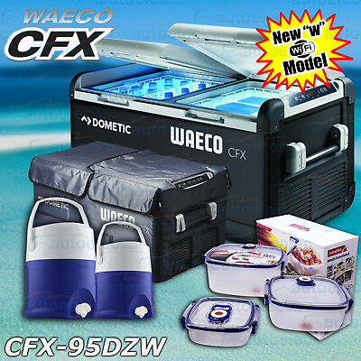 Waeco Cfx-95Dzw 2017 Portable Fridge Freezer 12V 240V Volt + Bonus Pack + Cover