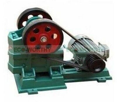 ECO 60X100 Jaw Crusher for Gold Mining, Granite, Concrete, Gravel, Rock Crushing