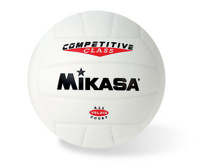 Mikasa Vsl215 Volleyball White Synthetic Leather In/outdoor New