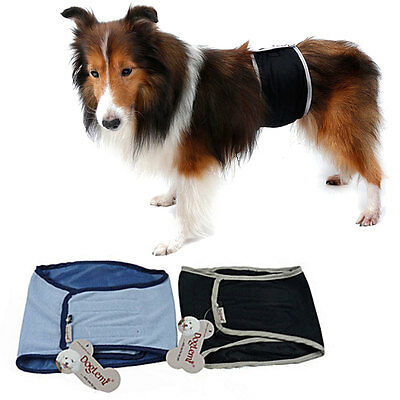Male Pet Dog Cotton Belly Band Diaper Sanitary Underwear Physiological Pants BKB