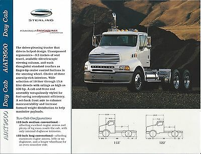 Truck Brochure - Sterling - A9500 AT9500 Day Cab - 2000 (T1889)