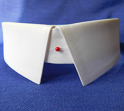 Vintage Martini shirt collars Old England size 16 stiff starched 1930s 40s 1950s