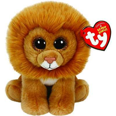 Louie the Lion Beanie Babies Soft Toy TY36006 New with tags