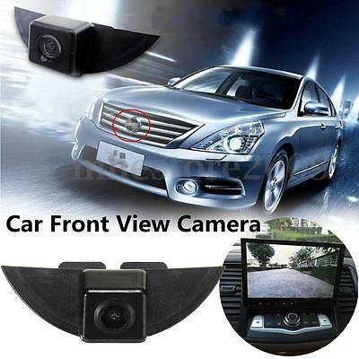 Car Front View Camera Lens Waterproof 170° Wide Degree Logo Embedded For Nissan