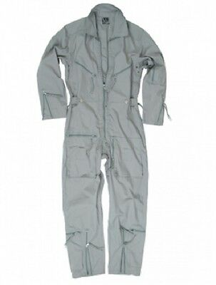 BW FLIEGERKOMBI Kombi German Army Military Pilot Overall Grey Grau Gr. 56