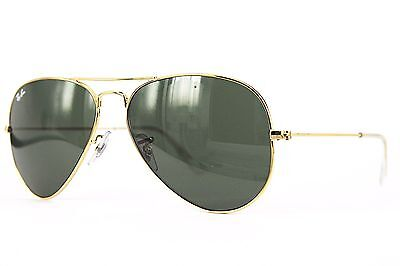 Ray Ban Sonnenbrille / Sunglasses  AVIATOR LARGE METAL   RB3025 L0205  58  # *