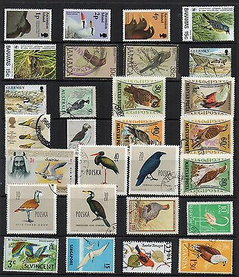 BIRDS Thematic STAMP COLLECTION Mint Used REF: TS89