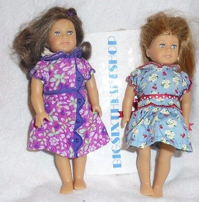 American Girl Collection Miniature Mini Emily & Ruthie Doll