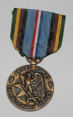 original Orden Medal USA Armed Forces Expeditionary Service am Band