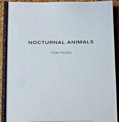 Fyc Nocturnal Animals Limted Edition Screenplay Script  For Your Consideration
