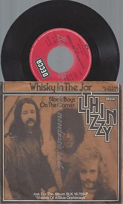 "7"" Thin Lizzy Whisky In The Jar"