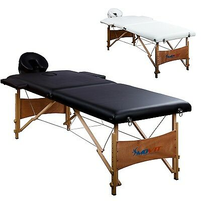 MOVIT Mobile Massage table incl. Accessories and Bag,
