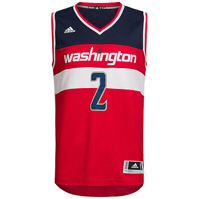 Washington Wizards adidas NBA Swingman Trikot #2 Wall A78943 2XS-2XL Basketball