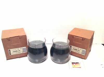 2 Candle Jar Green CHRISTMAS PINE Longaberger 13 ounce oz Burn to 90 hours  new
