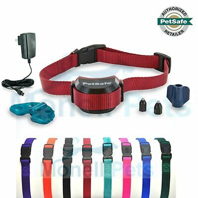 PetSafe Stubborn Dog Stay+Play Wireless Rechargeable Collar with Free  strap