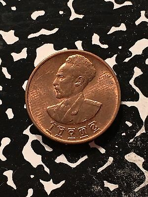 EE 1936 (1944) Ethiopia 1 Cent Lot#9880 High Grade! Beautiful!