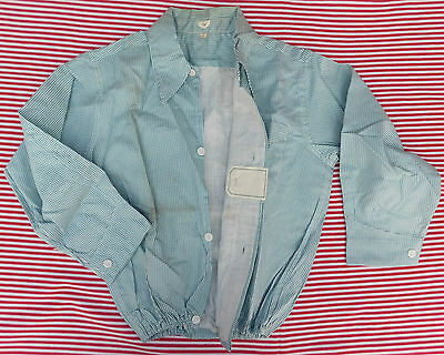 Vintage childrens shirt 1930s 1940s Shop soiled Pale blue School uniform UNUSED